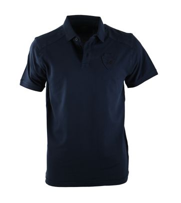 Vanguard Poloshirt Donkerblauw Stretch