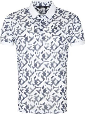 Vanguard Poloshirt Grafisch Wit