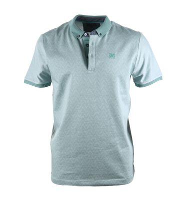 Vanguard Poloshirt Groen Dessin