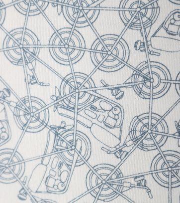 Detail Vanguard Poloshirt Off White Print