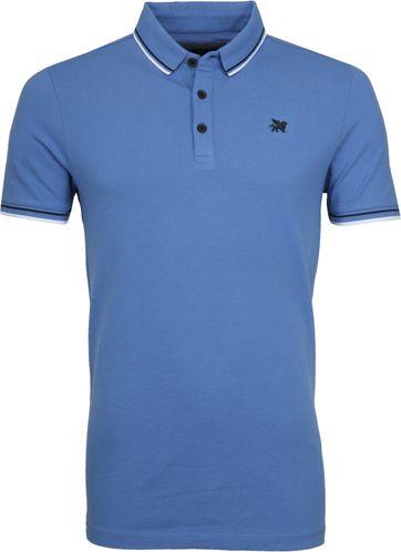 Vanguard Poloshirt Pique Blue