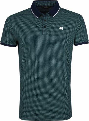 Vanguard Poloshirt Pique Dunkelgrün
