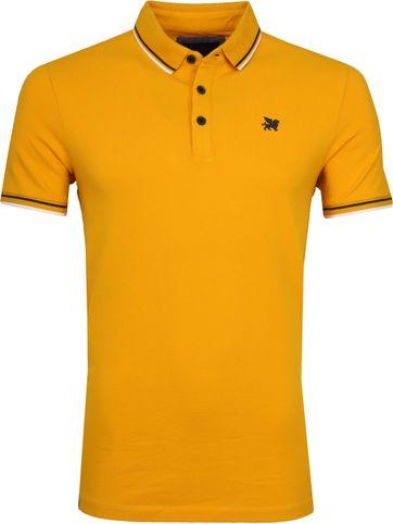 Vanguard Poloshirt Pique Gelb