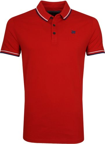 Vanguard Poloshirt Pique Rot