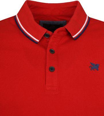 Vanguard Poloshirt Pique Rot VPSS194692 online kaufen | Suitable