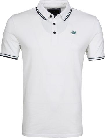 Vanguard Poloshirt Pique Weiß