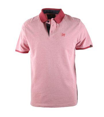 Vanguard Poloshirt Rood Pique