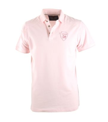 Vanguard Poloshirt Roze Stretch