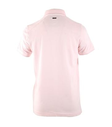 Detail Vanguard Poloshirt Roze Stretch