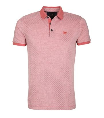 Vanguard Poloshirt Two Tone Rosa