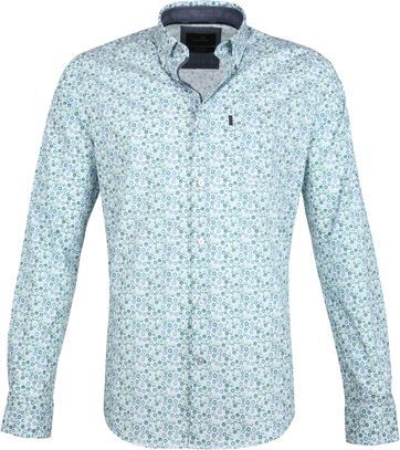 Vanguard Print Shirt Circle Green