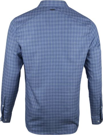 Vanguard Print Shirt Printed Navy