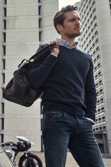 Vanguard Pullover Donkerblauw