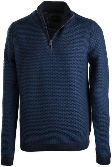 Vanguard Pullover Reißverschluss Blau
