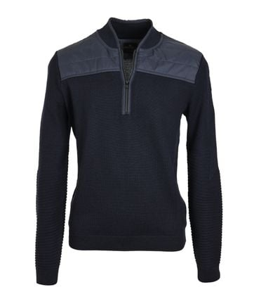 Vanguard Pullover Reißverschluss Dunkelblau