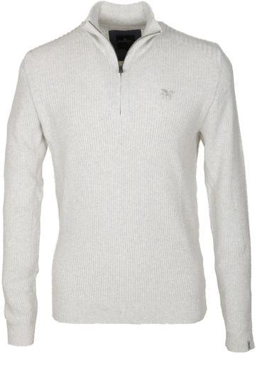 Vanguard Pullover Reißverschluss Weiß