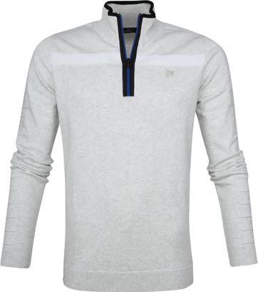 Vanguard Pullover Reißverschluss Grau