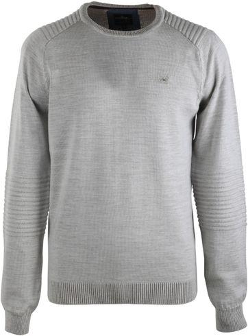 Vanguard Pullover Rundhals Beige