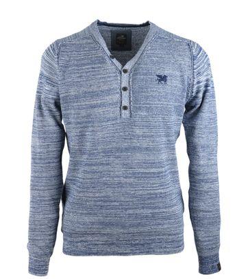 Vanguard Pullover V-Hals Blauw
