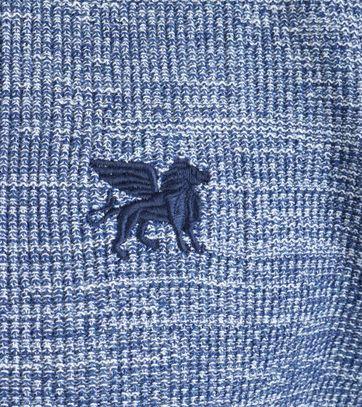 Detail Vanguard Pullover V-Hals Blauw