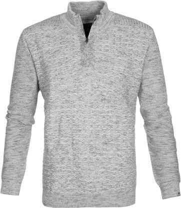 Vanguard Pullover Vlecht Grijs