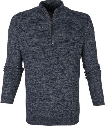 Vanguard Pullover Zip Navy
