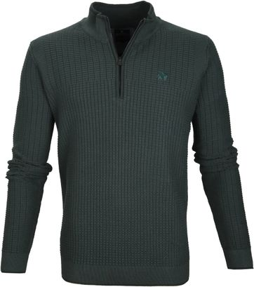 Vanguard Pullover Zipper Dark Green