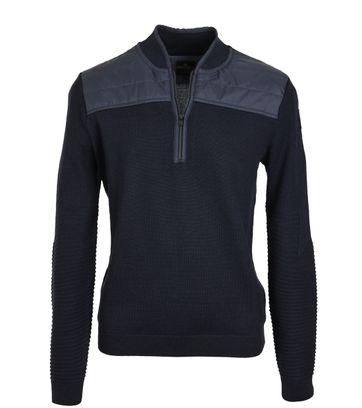 Vanguard Pullover Zipper Donkerblauw