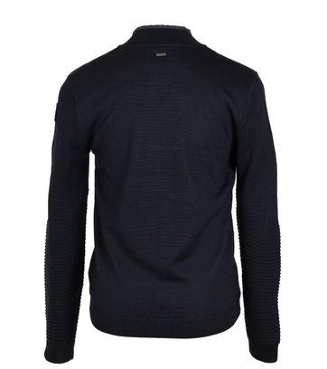 Detail Vanguard Pullover Zipper Donkerblauw