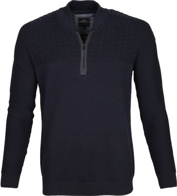Vanguard Pullover Zipper Navy