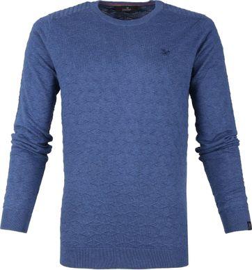 Vanguard R-Neck Pullover Blau