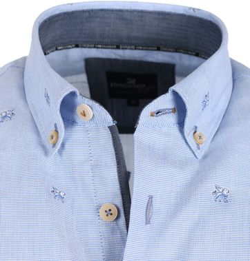 Detail Vanguard Shirt Blauw Lions