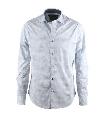 Vanguard Shirt Blauw Print