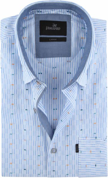 Vanguard Shirt Blue Stripes