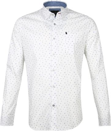 Vanguard Shirt Cirkels White