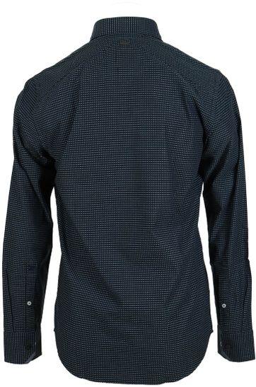 Detail Vanguard Shirt Donkerblauw Punt