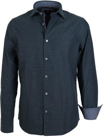 Vanguard Shirt Navy Dots