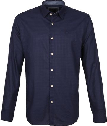 Vanguard Shirt Pattern Blue
