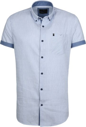 Vanguard Shirt Stripes Blue
