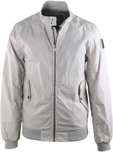 Vanguard Sommerjacke Biker Jacket Gebrochenes Weiß