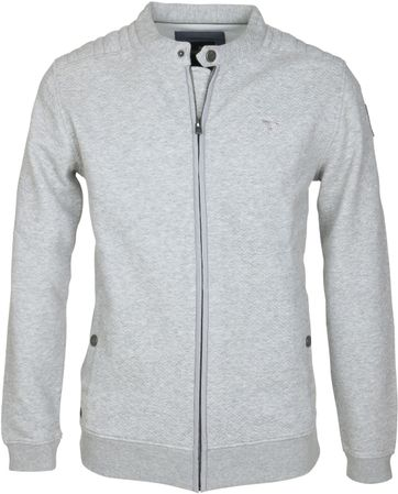 Vanguard Strickjacke Grau