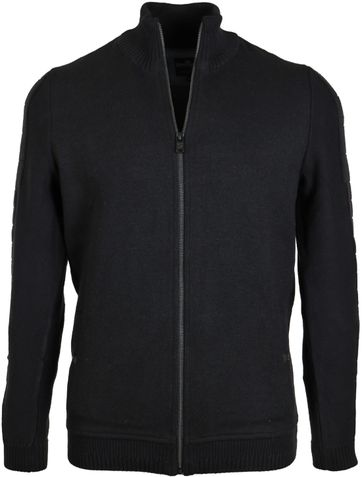 Vanguard Strickjacke Schwarz