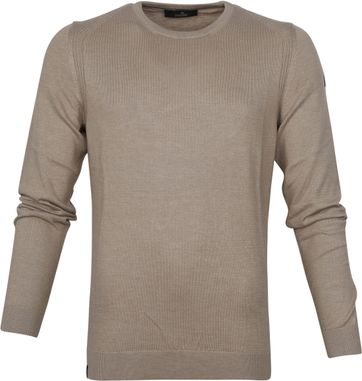 Vanguard Sweater Aluminium Braun