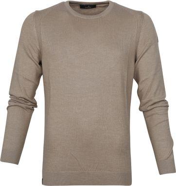 Vanguard Sweater Aluminium Brown