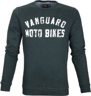 Vanguard Sweater Dunkelgrün