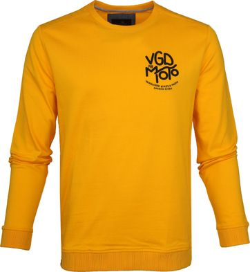 Vanguard Sweater Mercerized Geel