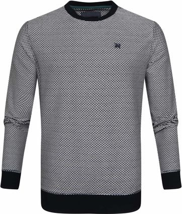 Vanguard Sweater Shadow Structure Donkerblauw