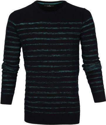Vanguard Sweater Streifen Schwarz