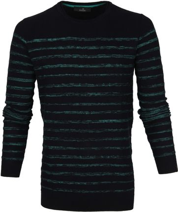 Vanguard Sweater Stripes Black