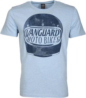 Vanguard T-shirt Motor Jersey Blau